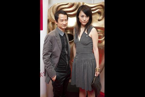 Director Tran Anh Hung and actress Rinko Kikuchi at BAFTA.